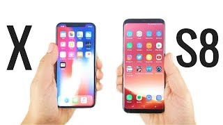 Should You Buy iPhone X or Galaxy S8?