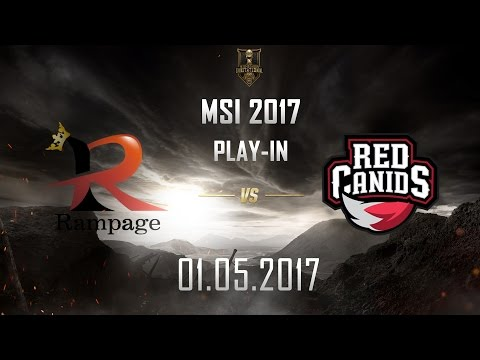 [01.05.2017] RPG vs RED [MSI 2017][Play-in]