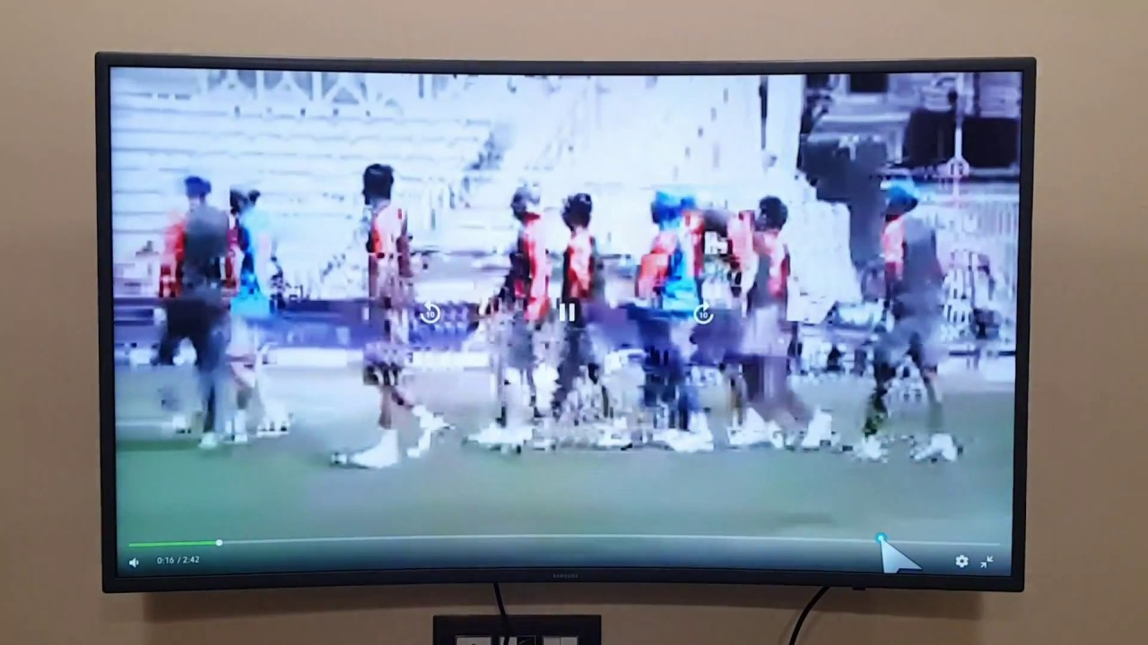 You can still watch videos from non-supported app on Samsung smart TV using  installed browser(Hindi)