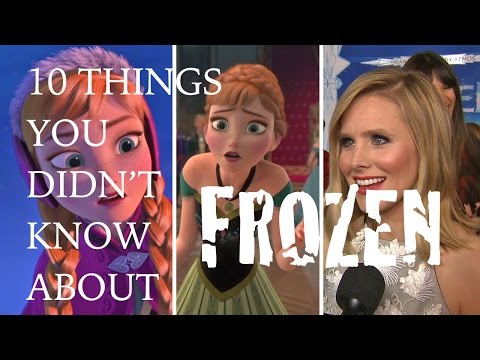 Frozen: 10 things you didn't know about