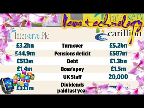 News Techcology -  Ruthless hedge funds target Carillion rival Interserve