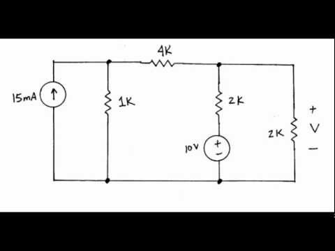 dc: Superposition Example #1