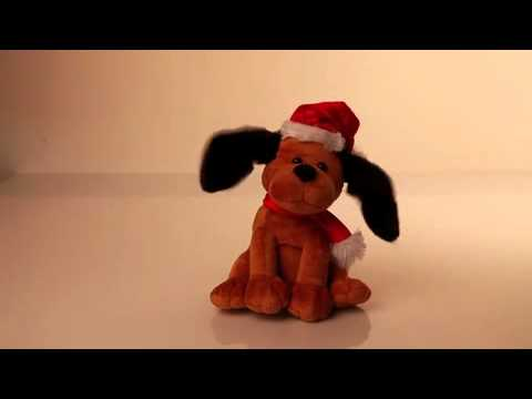Musical Dancing Dog Christmas