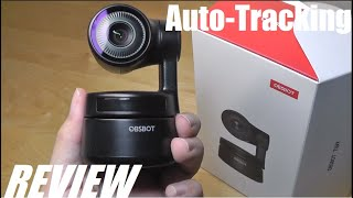 REVIEW: OBSBOT Tiny, AI-Powered Auto-Tracking Webcam (Pan & Tilt Camera)