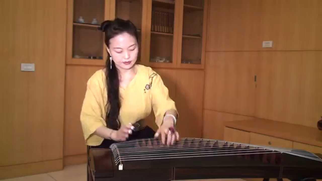 國語音樂-綠島小夜曲-古箏-吳語宸-Guzheng - YouTube