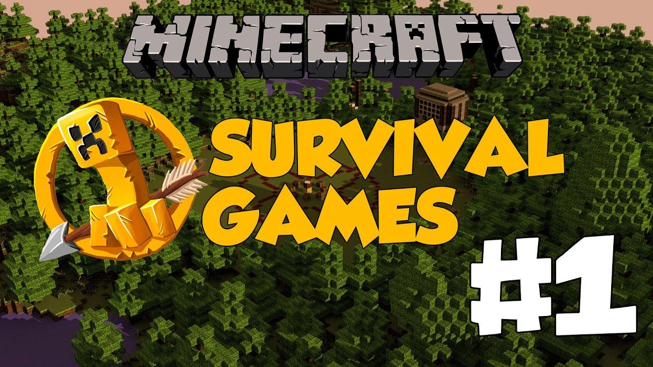 Minecraft hunger games b l m 1 kazanamad k 39 youtube for Mine craft hunger games