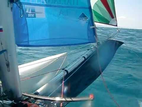 puntiroli oscar dudek pavol giro d'Italia 2011 catamarano mattia esse sport 18 real sailing italia 7