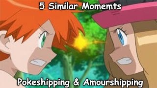 5 Similar Momemts In Amourshipping And Pokeshipping thumbnail