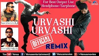 Urvashi Urvashi  Remix - DJ Mack | Rapper - AJ | Prabhu Deva | Best Hindi Remix Songs