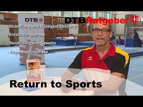 DTB-Ratgeber: Return to Sports