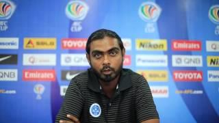 Post Match Press (NRSC Vs Lao Toyota FC)
