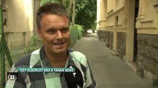 Egy budapesti albérlet ára egy tanár bére  19-07-23
