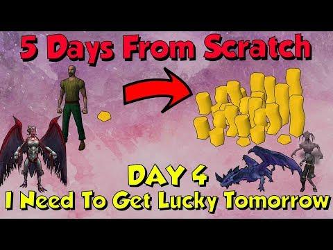 Day 4 - NOT LIKE THIS! 5 Days From Scratch! [Runescape] Maikeru vs Ravlar!