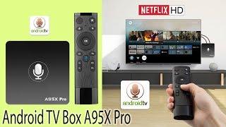 Новинка 2018 Крутой TV Box A95X Pro с Голосовым Управлением очень похож на Mi Box только дешевле Обз