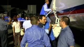AEREOCALAFIA LLEGADA DEL  avión Embraer 145