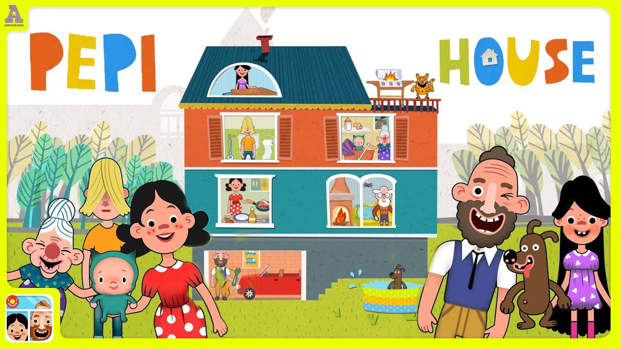 Pepi House Awesome Playhouse App For Kids Youtube