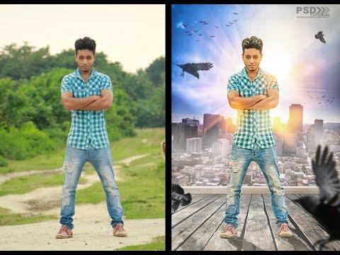 Photoshop CC | Tutorial Photo Manipulation Effects Creative movie ...