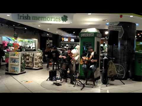 Irish Band on Dublin Airport