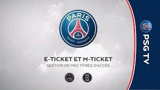 E-Ticket ou M-Ticket : comment gérer mes billets ?