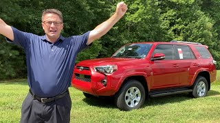 2020 4Runner SR5 Premium Review - What's New & Why You Might Want One!
