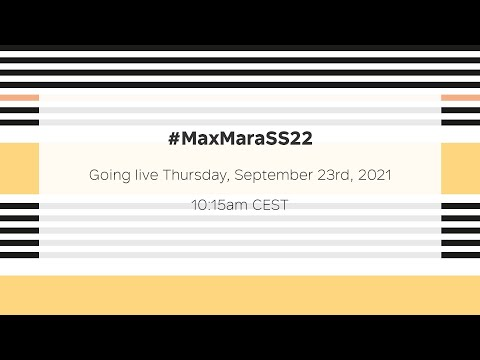 Max Mara Spring Summer 2022 Runway Show