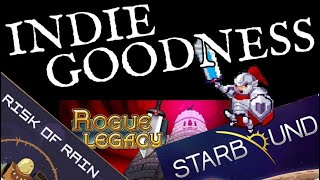 Starbound, Risk of Rain, Rogue Legacy - PC-Game reviews