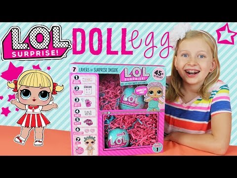 My First LOL Surprise Dolls Opening!!