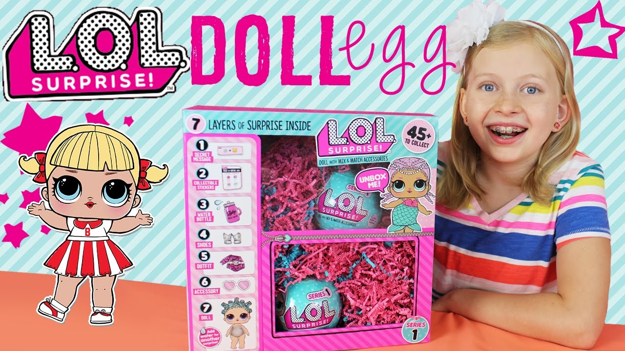 My First Lol Surprise Dolls Opening Youtube