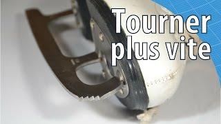 Tourner plus vite en patin artistique - Scilabus 11