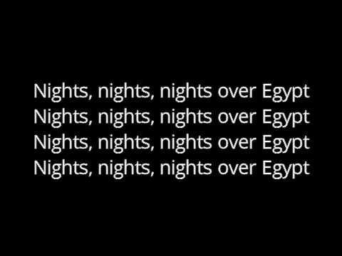 NIGHTS OVER EGYPT INCOGNITO LYRICS