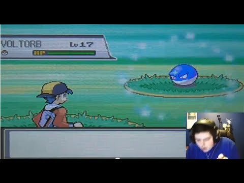 LIVE! Shiny Voltorb on Route 10 after 3,034 RE's! (SoulSilver)