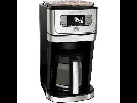 Cuisinart DGB-800 Burr, Grind, Brew Coffeemaker Review. EXCELLENT!