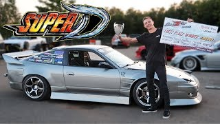 Competing in a Borrowed 240SX - SUPER D MIDWEST TRIAL