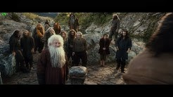 The Hobbit The Desolation of Smaug (2013) Bard`s barge for hire | First glaze of The Lonely Mountain