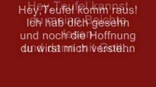 Tokio Hotel - Beichte with lyrics