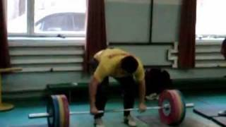 140kg to 190kg in a matter of seconds (Norik Vardanian)