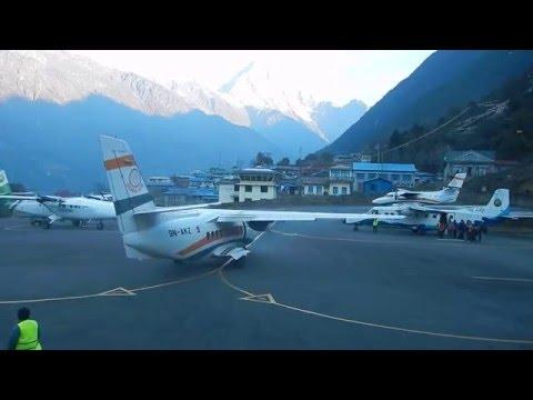 Tenzing-Hillary Airport Lukla IATA: LUA, ICAO: VNLK