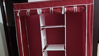 Filpkart collapsible wardrobe 100 %honest review(malayalam)