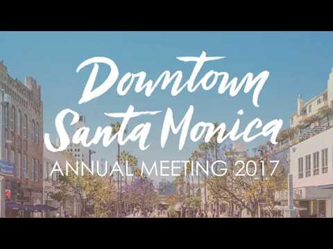 Santa Monica Mayor Ted Winterer, DTSM Annual Meeting, Aug. 31, 2017