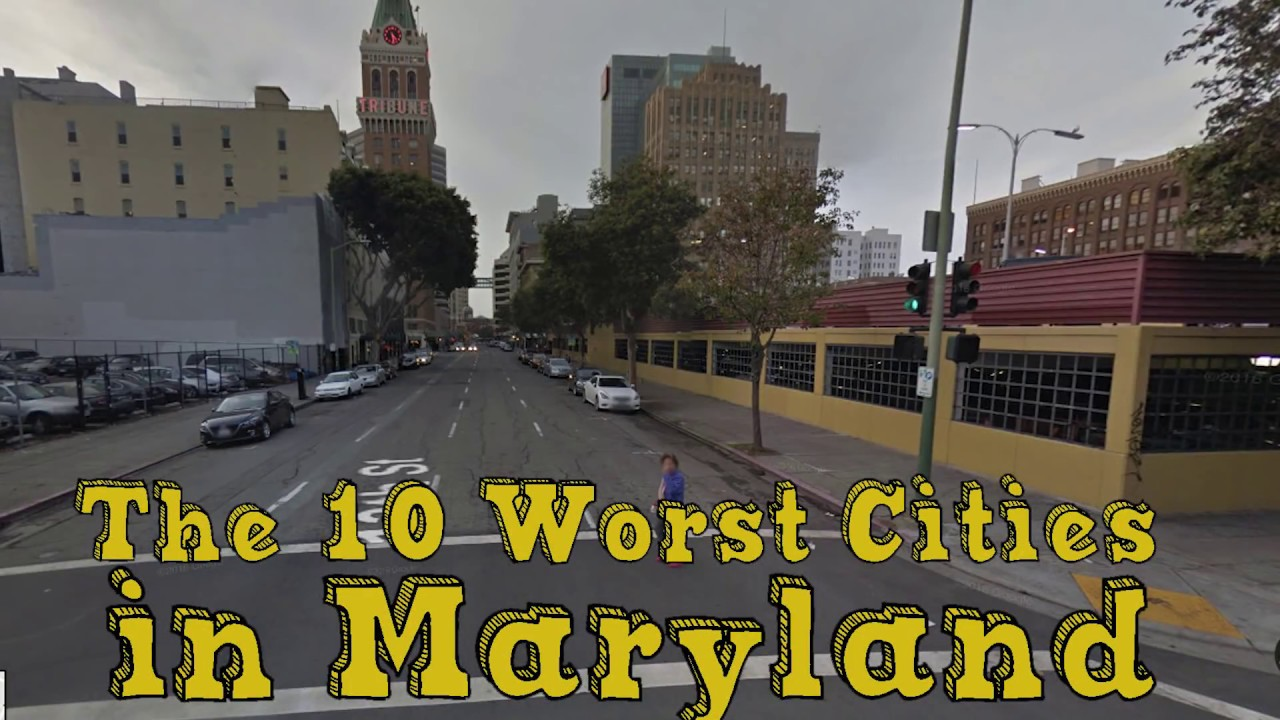 the 10 worst cities in maryland explained youtube. Black Bedroom Furniture Sets. Home Design Ideas