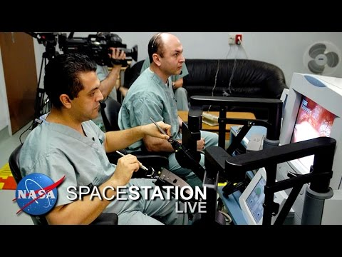Space Station Live: A Surgical Assist from ISS Robotics Technology