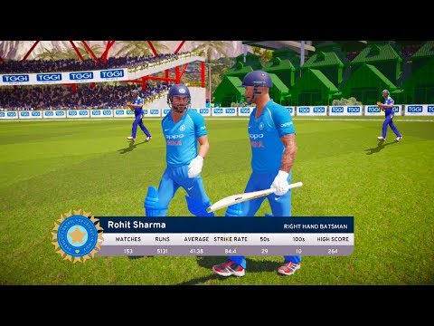 India vs Sri Lanka - 2nd ODI Match - Don Bradman Cricket 17