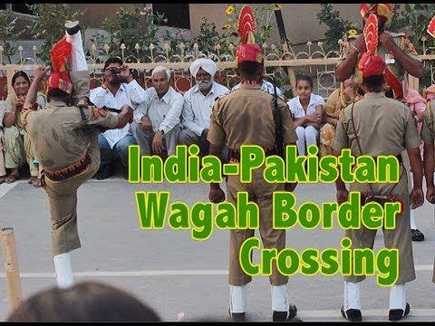 Wagah Border Crossing Ceremony | Indian-Pakistan Border | India Travel