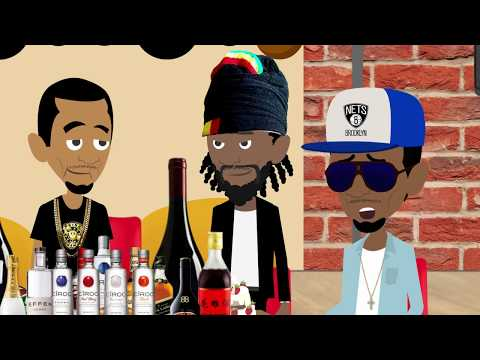 Diddy Flirts With Fabolous On Drink Champs Cartoon Parody