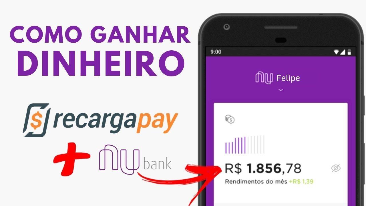 NOVO! Como GANHAR mais de R$ 156,87 por dia no Recargapay | Aplicativo para Ganhar Dinheiro