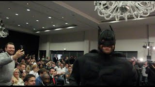 TYSON FURY v WLADIMIR KLITSCHKO -LET'S NOT FORGET THE MOST EPIC MOMENT IN THE STORY SO FAR..BATMAN!
