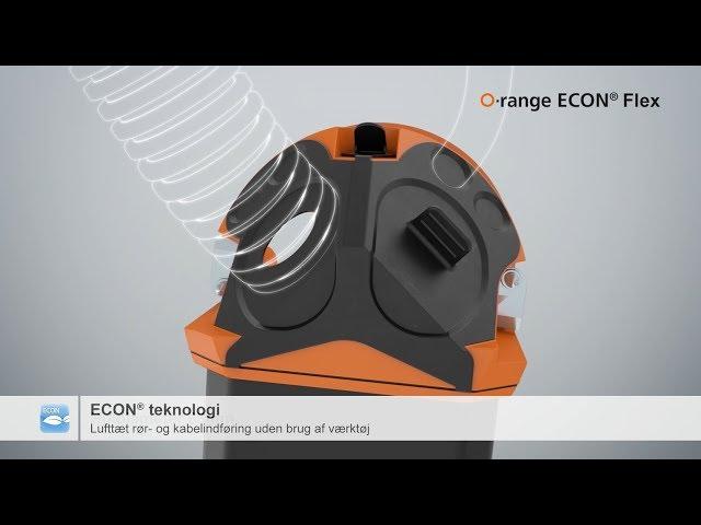 Elektronikdåse O-range ECON® Flex