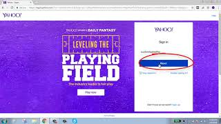 recover my yahoo account with facebook