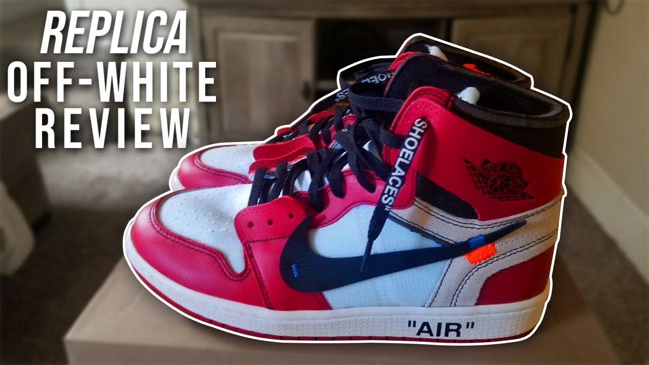 for whole family lower price with wholesale price OFF-WHITE x AIR JORDAN 1 'CHICAGO' REPLICA REVIEW (BEST 1:1 ...