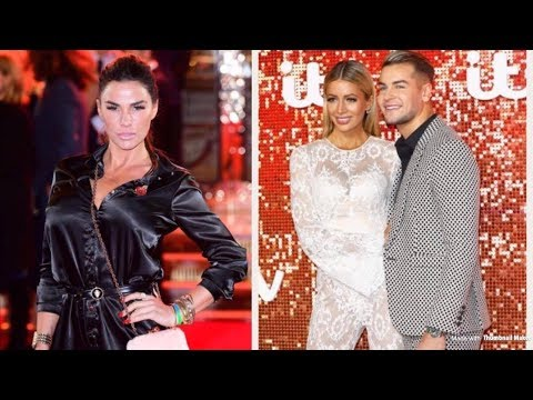 Katie Price Screams At Chris Hughes At The ITV Gala Over Those 52 Text Messages